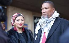 Former president Nelson Mandela's eldest grandson Mandla Mandela. Picture: Abigail Javier/EWN.