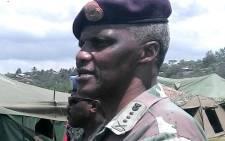 Lieutenant General Derrick Mgwebi Picture: Wikimedia Commons/BoonDock.