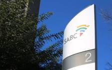 A sign outside the offices of the South African Broadcasting Corporation in Johannesburg. Picture: Christa Eybers/EWN.