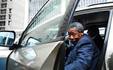 Jackie Selebi outside the South Gauteng High Court. Picture: Taurai Maduna/Eyewitness News