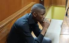 Convicted murderer Sandile Mantsoe in the Johannesburg High Court on 3 May 2018 for the murder of Karabo Mokoena. Picture: Louise McAuliffe/EWN