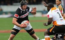 Sharks lock Pieter-Steph Du Toit (L) is aiming for a call-up to the Springbok's World Cup squad. Picture: Facebook.