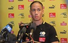 Bafana Bafana player Steven Pienaar. Picture: Taurai Maduna/EWN.