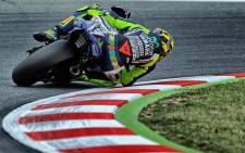 Italian MotoGP legend Valentino Rossi will finish his racing career at Yamaha. Picture: Facebook.