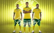 Bafana Bafana's new Nike kit was launched on 3 December 2014. Picture: Nike Football ZA