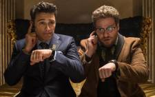 "FILE:James Franco and Seth Rogen in the movie, ""The Interview"". Sony has cancelled the release of the movie. Picture: The Interview Official Facebook page."