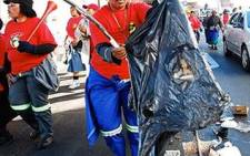 Members of the South African Municipal Workers Strike during a wage increase and housing allowance strike, trashing the streets. Picture: Eyewitness News