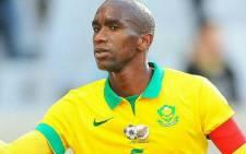Former Bafana Bafana defender Anele Ngcongca. Picture: @BafanaBafana/Twitter