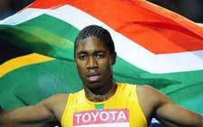 SA athlete Caster Semenya. Picture: Gallo Images/AFP