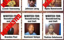 Police are hunting for four awaiting trial prisoners who escaped from the Lenasia Magistrates Court on Monday. Three of the seven men were re-arrested at their homes in Lenasia & Ennerdale on Tuesday.