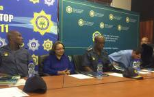 Cape Town mayor Patricia de Lille has officially welcomed Provincial Commissioner Khombinkosi Jula who assumed his role on 1 February 2016. Picture: Siyabonga Sesant/EWN