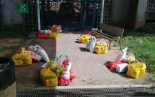 FILE: Sassa KZN food parcels ready for distribution to the most vulnerable during COVID-19 crisis. Picture: Twitter.