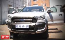 The 2016 Ford Ranger Wildtrak, a double cab in a league of its own. Picture: Kgothatso Mogale/EWN.