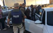 Police arrested a 40-year-old man linked to Czech fugitive Radovan Krejcir in Johannesburg on 25 June 2015. Picture: SAPS.