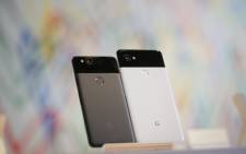 FILE: The new Pixel 2 and Pixel 2 XL smartphones are seen at a product launch event on 4 October 2017 at the SFJAZZ Center in San Francisco, California. Picture: AFP