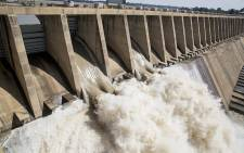 FILE: Approximately 400 000 cubic meters of water was released from the Vaal dam on 26 February 2017 after the dam reached 97.8 % capacity following heavy rains across Gauteng. Picture: Reinart Toerien/EWN