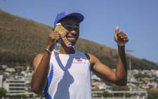 Youth Olympics 100m champion Luke Davids. Picture: Cindy Archillies/EWN