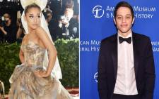 Ariana Grande and  Pete Davidson address their breakup. Picture: CNN
