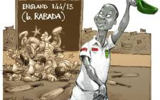 The Proteas easily acquired the remaining seven English wickets yesterday within the first session, and Kagiso Rabada was once again the hero, ending with figures of 6/32 and a match haul of 13 wickets.