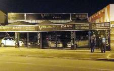 An explosive device was thrown at Velocity cars dealership on 24 July 2013. Picture: Rahima Essop/EWN