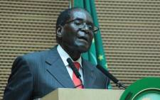 Zimbabwean President Robert Mugabe. Picture: African Union Facebook page.