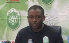 AmaZulu general manager Lunga Sokhela. Picture: @AmaZuluFootball/Twitter