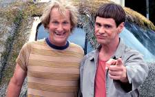 Jeff Daniels (L) and Jim Carrey star in 'Dumb and Dumber To'. Picture: Official Dumb and Dumber Facebook page.