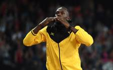 FILE: Jamaican sprint legend Usain Bolt bows out of athletics at the London Stadium on 13 August 2017. Picture: AFP.