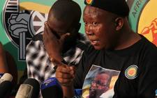 Youth League members promise to support Julius Malema.