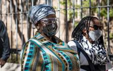 Bathabile Dlamini made a brief appearance in the Johannesburg Magistrates Court on 21 September 2021 for perjury. Picture: Xanderleigh Dookey Makhaza/Eyewitness News