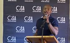 One South Africa (OSA) leader, Mmusi Maimane. Picture: @OneSA_Movement/Twitter