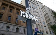 FILE: Adderley street, Cape Town. Picture: Calhoun Mathews/Primedia.