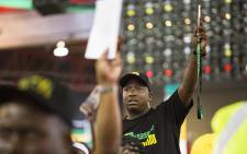 A delegate during the nominations process at the ANC's national conference on 17 December 2017. Picture: Sethembiso Zulu/EWN