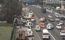 FILE: Cars turning around and taking London Road following a deadly shootout on the N3 south on 29 March 2015. Picture: Ray White/EWN.