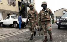 The SANDF arrived in Manenberg on 18 July 2019, as part of an anti-crime operation in gang-plagued areas on the Cape Flats. Picture: Kaylynn Palm/EWN