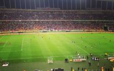 Amakhosi beat Orlando Pirates 1-0 in the MTN8 Final at a rain-soaked Moses Mabhida Stadium in Durban on 20 September,2014. Picture: Vumani Mkhize/EWN.