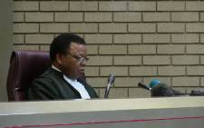 Judge Lusindiso Pakade. Picture: EWN