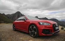The Audi RS5. Picture: Cindy Archillies/EWN
