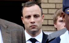 Murder accused Oscar Pistorius at the High Court in Pretoria. Picture: Sebabatso Mosamo/EWN.
