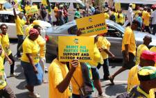 Thousands join ANC's anti-racism march in Pretoria on 19 February 2016. Picture: Christa Eybers/EWN