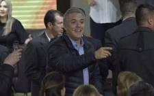 Colombian President Ivan Duque. Picture: @IvanDuque/Twitter.