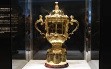 The Webb Ellis Cup. Picture: AFP