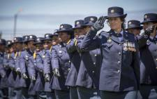 FILE: SAPS graduates on parade. Picture: Thomas Holder/EWN