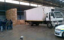 Sixteen men tried to steal tobacco worth R14 million at a shipping company. Picture: Supplied