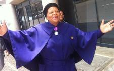 Gauteng Premier Nomvula Mokonyane arrives at Orlando Stadium for a day of prayer for Madiba. Sebabatso Mosamo/EWN