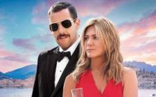 'Murder Mystery' stars Jennifer Aniston and Adam Sandler. Picture: Netflix