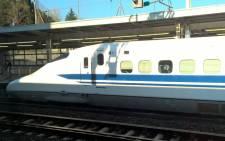 A Japanese bullet train. Picture: Zunaid Ismael/EWN