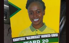 FILE: Khanyisile Ngobese- Sibisi was shot on Monday while on her way to a Mandela Day event in Ladysmith. Picture: ANC Women's League via Facebook.""
