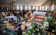 Family and friends of Kgothatso Mdunana remembered her at her funeral service in Alexandra on Saturday, 12 June 2021. Picture: Boikhutso Ntsoko/EWN.