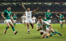 England beat Ireland 32-20. Picture: Twitter.